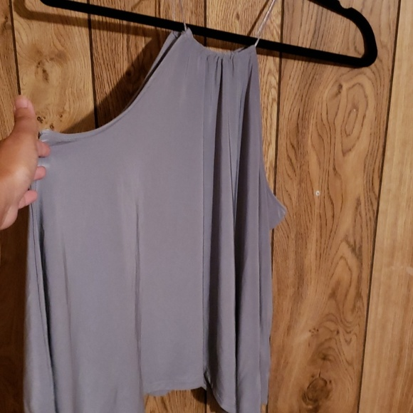 Express Tops - Flowy gray blouse
